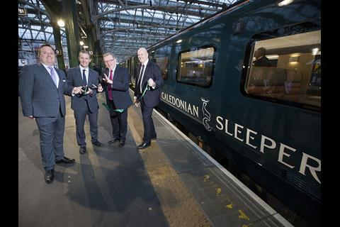 Caledonian Sleeper Launches New Caf Coaches News Railway